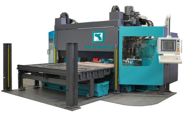 Plate processing centre borr och skärmaskin KF kaltenbach