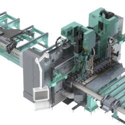 Plate processing centre borr och skärmaskin KF 2114 kaltenbach