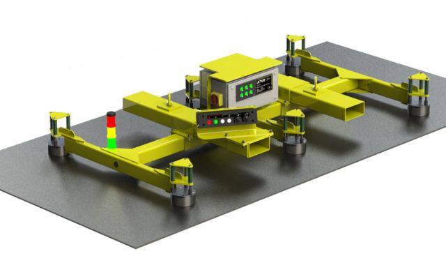 Automatisk lyftmagnet PLE.700 IXTUR