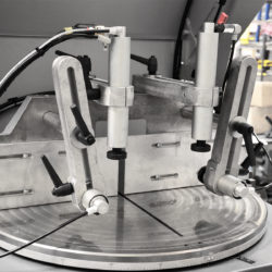 Halvautomatisk cirkelsåg AL 400 detalj 2