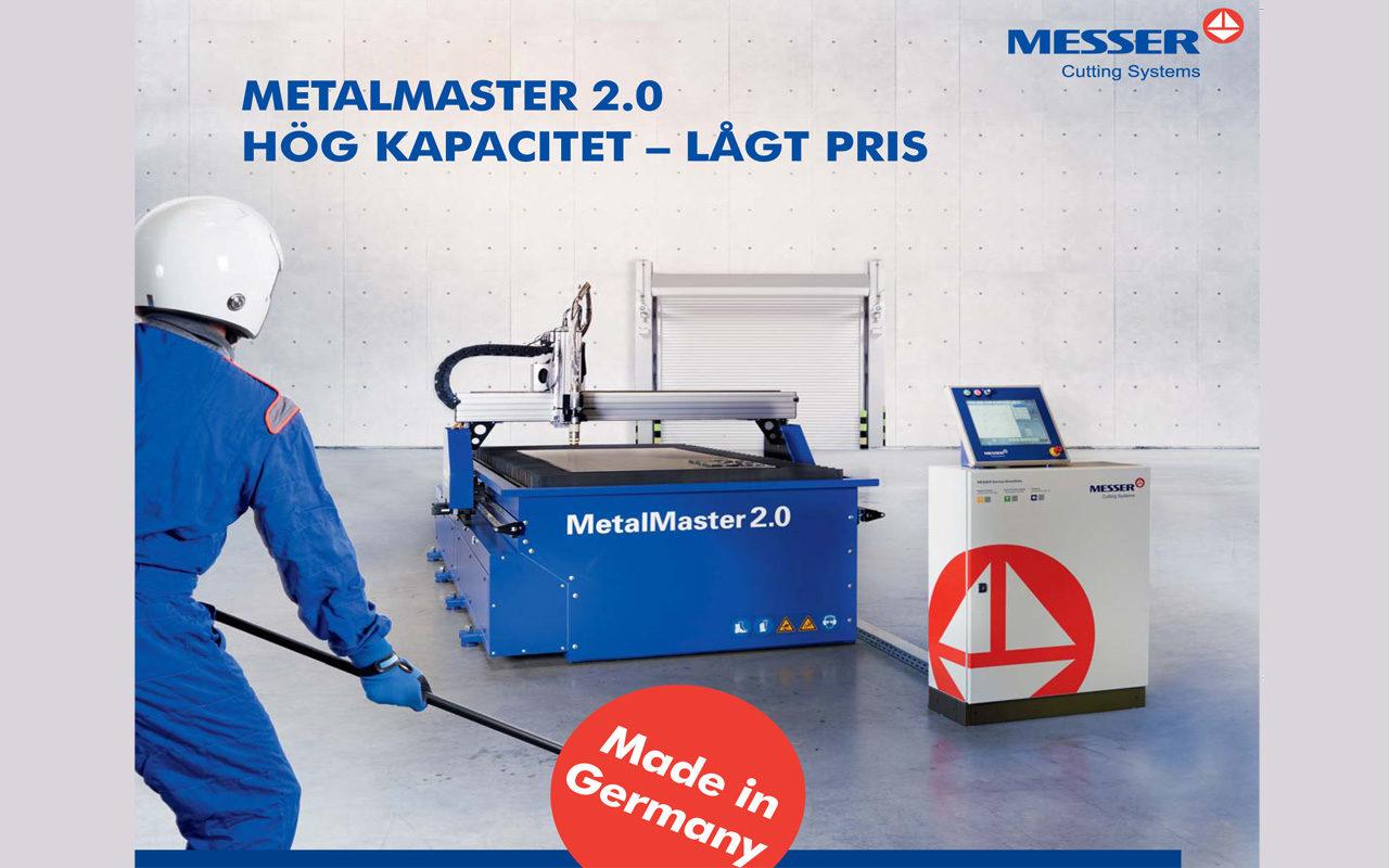 metalmaster 2.0 Messer skärmaskin