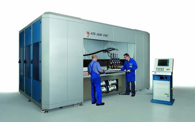 Automatisk CNC-bultsvetsmaskin KTS 2550w