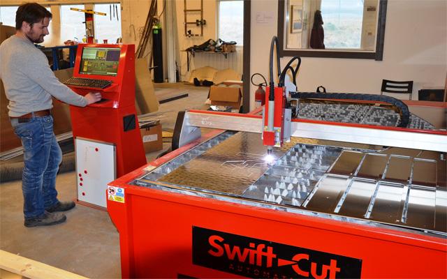 SwiftCut till marinteknik