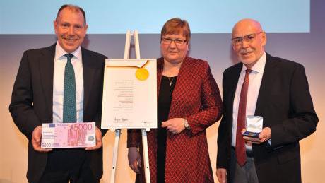 Soyer tar emot Bundespreis 2018