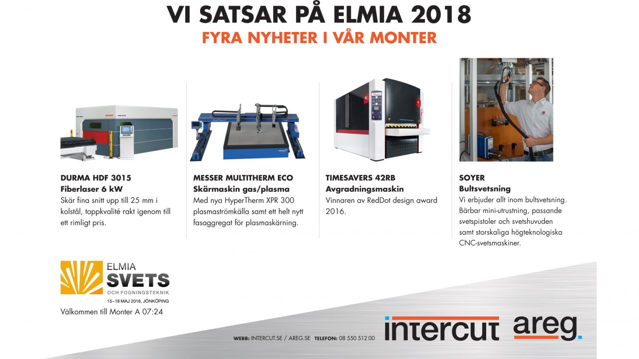 Intercut satsar på Elmia 2018