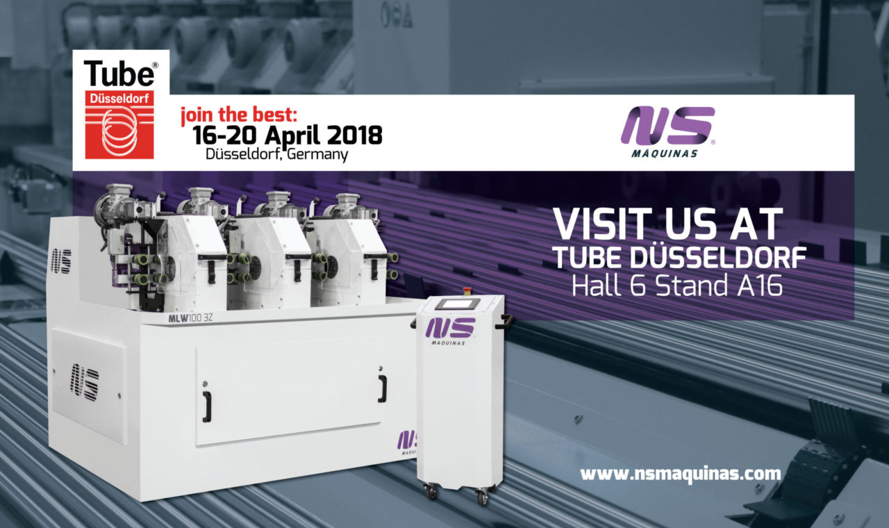 visit NS at TUBE DÜSSELDORF 2018