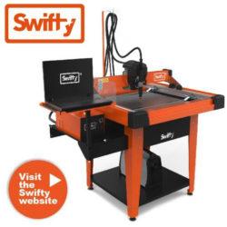 plasmaskärmaskin swifty från swift-cut