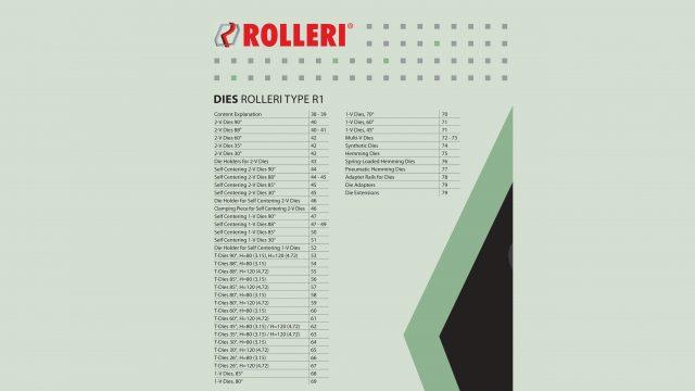 Kantpressverktyg Dynor Rolleri-Type-R1