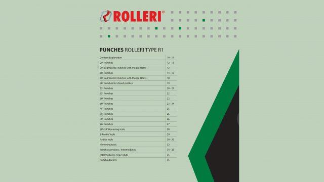 Kantpressverktyg Knivar Rolleri-Type-R1