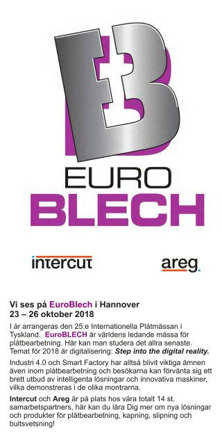 Intercut Folder euroBlech 2018