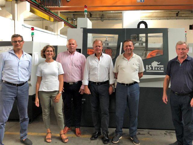 Intercuts nya leverantör Istech kapmaskiner