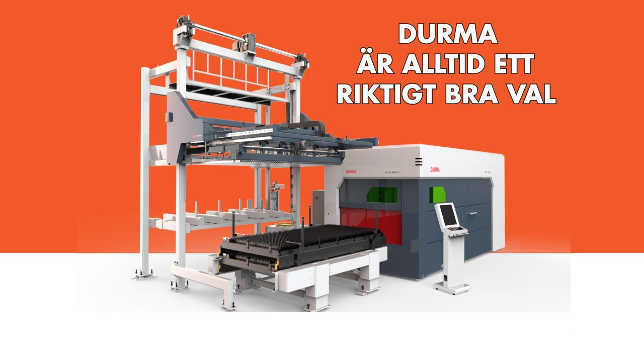Nya maskiner från Durma