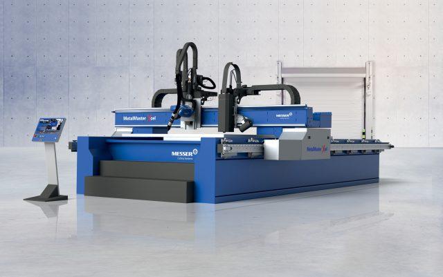 Fiberlaser och Plasmaskärmaskin MetalMaster Xcel