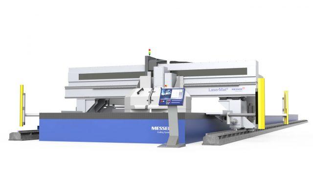 laserskärmaskin LaserMat Messer