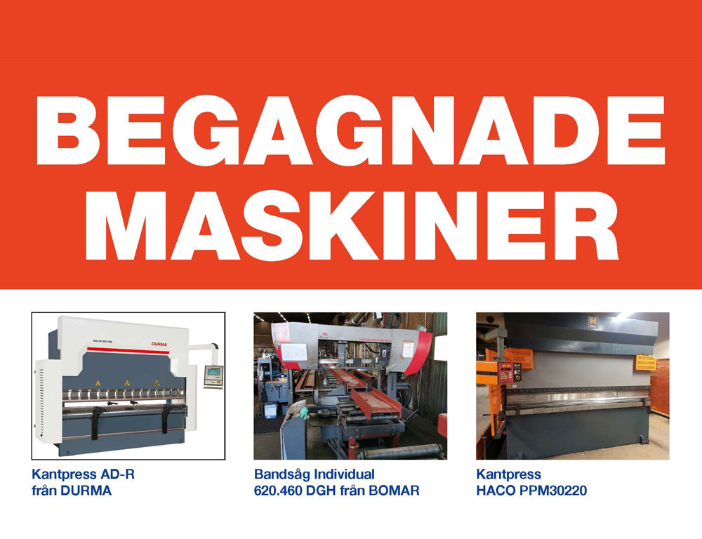 Begagnade maskiner Intercut 2019