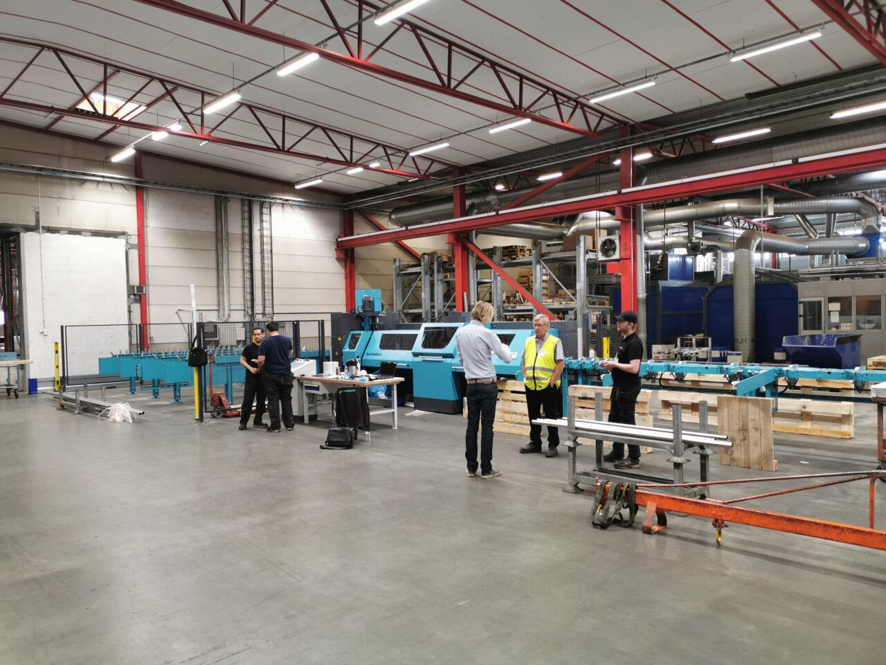 Weland investerar i kombimaskin från Kaltenbach