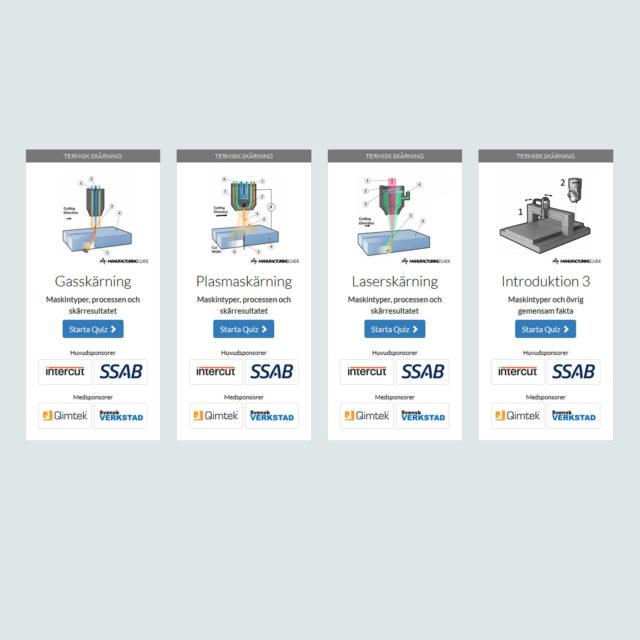 kunskapsdatabas för produktion och tillverkning Intercut