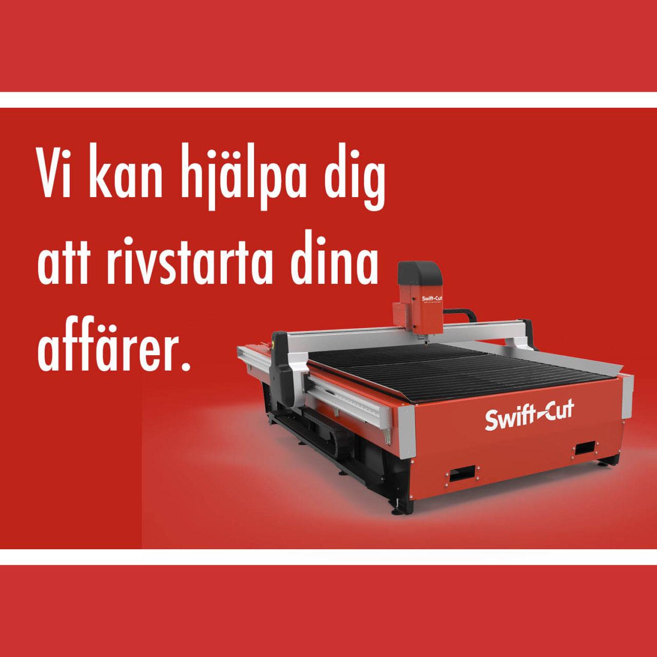 SwiftCut plasmaskärmaskin