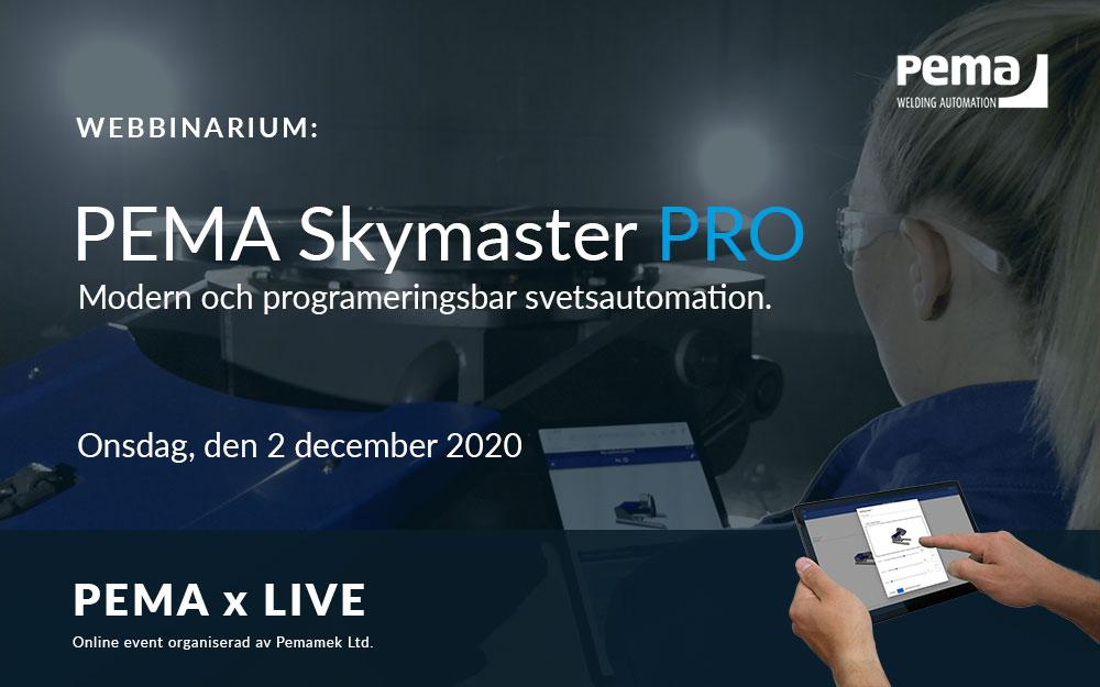 Webbinarium PEMA Skymaster PRO