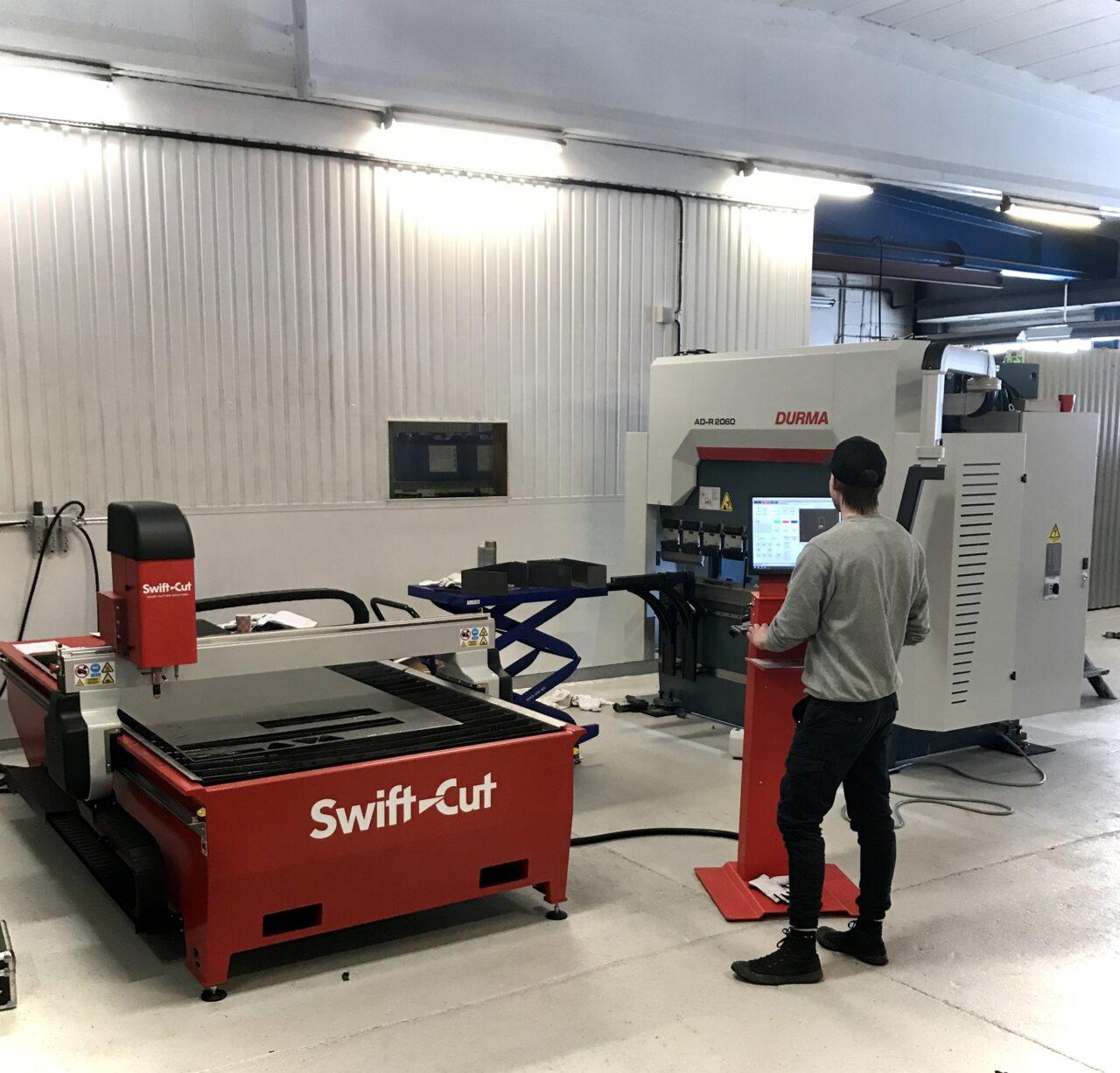 Mikab investerar i nya maskiner från Intercut