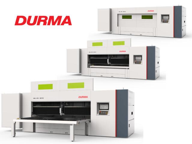 Durma fiberlaser HD-FO med 3 kW IPG laser