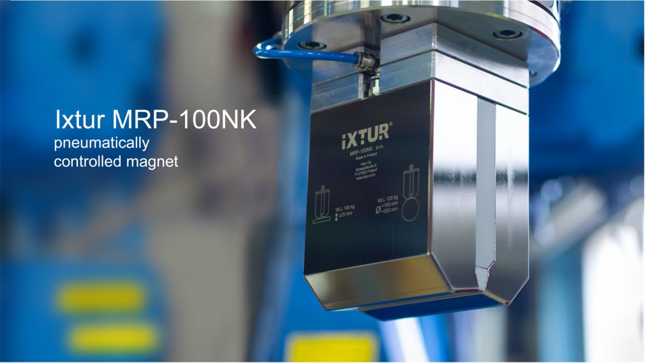 pneumatisk lyftmagnet robotarm MPR-100NK